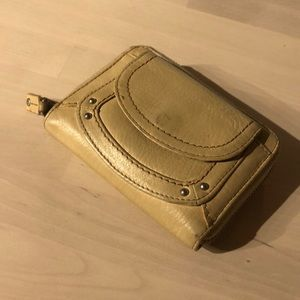 FOSSIL 2 fold zipped wallet with document slot